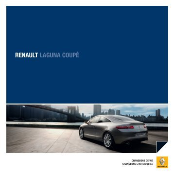 RENAULT LAGUNA COUPÉ - Basty Automobiles