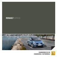 RENAULT ESPACE - Groupe BADER