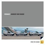 RENAULT KANGOO VAN RANGE - Renault Ireland