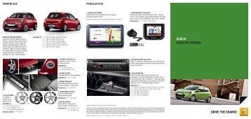Katalog dodatne opreme (PDF) - Renault