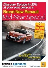 Brand New Renault Brand New Renault - Renault Eurodrive