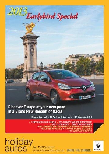 Holiday Autos - Renault Eurodrive