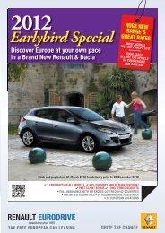 Earlybird Special - Renault Eurodrive