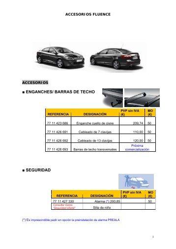 ENGANCHES/ BARRAS DE TECHO SEGURIDAD - Renault Leioa