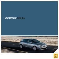 NEW MEGANE BERLINA - RENAULT ITALIA SpA