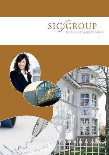 Download Imagebroschüre SIC GROUP GmbH