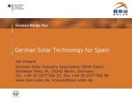 Solar energy in Germany – Market and Industry - Renewables Made ...
