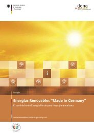 Folleto español (PDF) - Renewables Made in Germany
