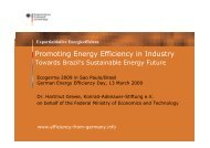 Promoting Energy Efficiency in Industry - Renewables Made in ...