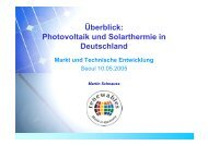 Photovoltaik und Solarthermie in Deutschland - Renewables Made ...