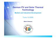 German PV and Solar Thermal Technology - Renewables Made in ...