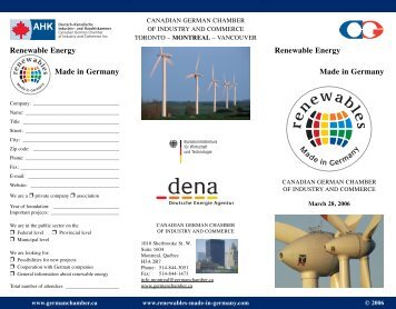 German (Renewable Energy) - Renewables Made in Germany