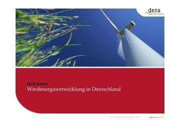 Windenergieentwicklung in Deutschland - Renewables Made in ...