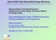 dena & AHK Chile Renewable Energy Workshop - Renewables ...