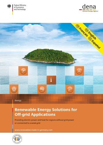 Renewable Energy Solutions for Off-grid Applications - Renewables ...