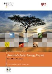 Rwanda's Solar Energy Market
