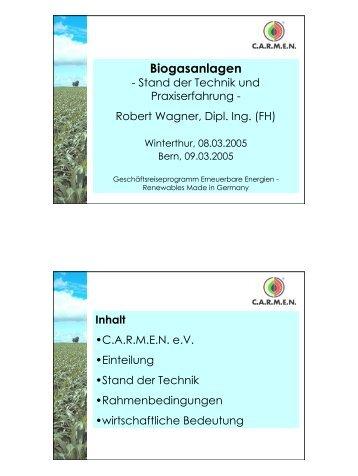 Biogasanlagen - Renewables Made in Germany