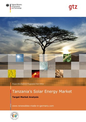 Mandatory Structure for sub-sector specific Target Market Analysis