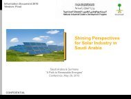 Shining Perspectives for Solar Industry in Saudi Arabia