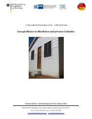 Energieeffizienz in öffentlichen und privaten Gebäuden