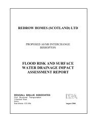 flood risk and surface water drainage impact assessment report