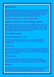 Adult Literacies English for Speakers for Other Languages (ESOL) IT ...