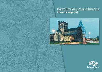 Paisley Town Centre Conservation Area Character Appraisal