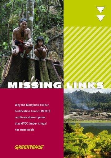 omslag missing links.indd - Rengah Sarawak - C2o