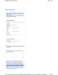 Page 1 of 4 Qualtrics Survey Software 2/3/2012 https://duke.qualtrics ...