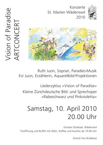Vision of Paradise ARTCONCERT - Christian Alpiger