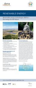 Renewable energy technologies - Renewables Made in Germany - Page 2