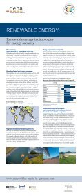 Renewable energy technologies - Renewables Made in Germany - Page 4