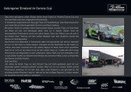 Gelungener Einstand im Carrera Cup - RENNARZT.DE