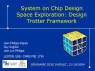 System on Chip Design Space Exploration: Design Trotter Framework