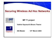 Securing Wireless Ad Hoc Networks