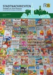 Ausgabe Nr. 22 - Stadt Renningen
