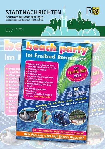 Ausgabe Nr. 28 - Stadt Renningen