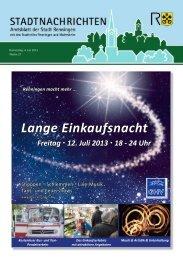 Ausgabe Nr. 27 - Stadt Renningen