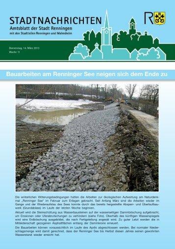 Ausgabe Nr. 11 - Stadt Renningen
