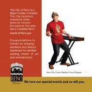 Official 2013 Artown schedule (pdf) - Reno Gazette-Journal
