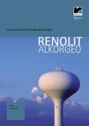 impermeabilización de depositos de hormigón - Renolit