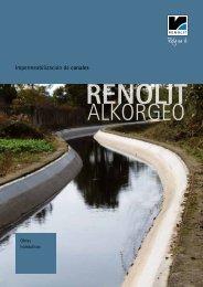 Impermeabilización de canales - Renolit