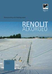 Waterproofing with floating covers - Renolit