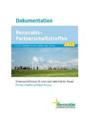 Dokumentation Partnerschaftstreffen 2013 (3.9 MB) - Renovabis