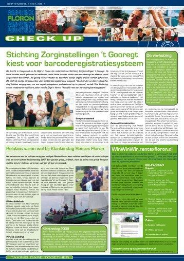 Stichting Zorginstellingen 't Gooregt kiest voor ... - Rentex Floron