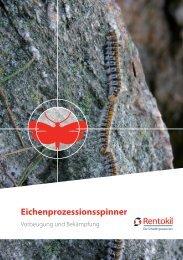 Eichenprozessionsspinner - Rentokil Schädlingsbekämpfung
