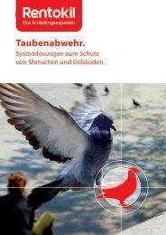Broschüre: Was tun gegen die Vogelplage? - Rentokil ...