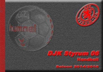 DJK Styrum 06 - Präsentationsmappe 2014/2015