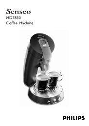 HD7830 Coffee Machine - ReparierMich.de