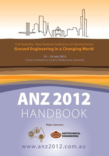 Geotechnical - ANZ 2012